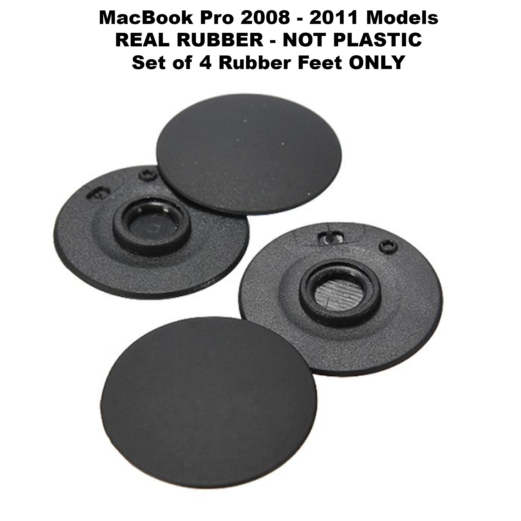 "4 pcs New Bottom Rubber Feet Foot fit MacBook Pro A1278 A1286 A1297 13/"" 15/"" 17/"""